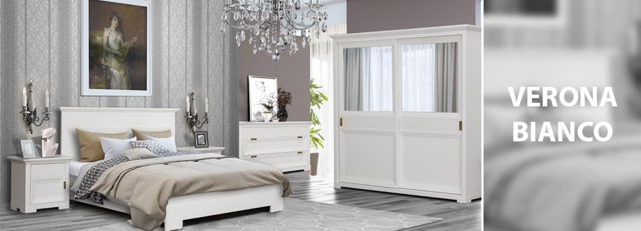 Dormitor Verona Bianco