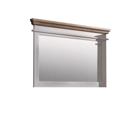 Rama oglinda Cortina, Alb, 1160 x 60 x 770 mm.