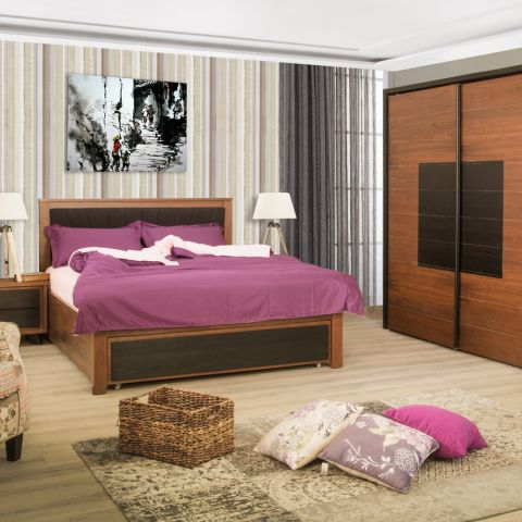 Dormitor Aruba, Pat 1600 mm.