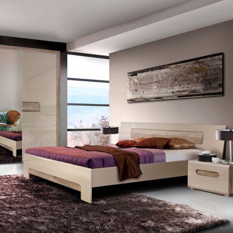Dormitor Tiziano, Stejar Antic / Bej