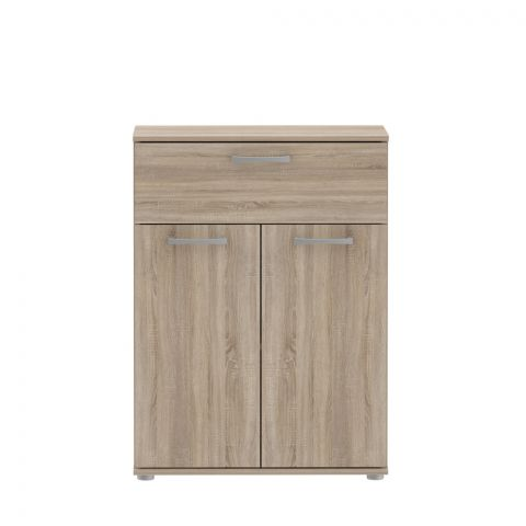 Comoda Nikole, Stejar Sonoma, 599 x 817 x 289 mm.