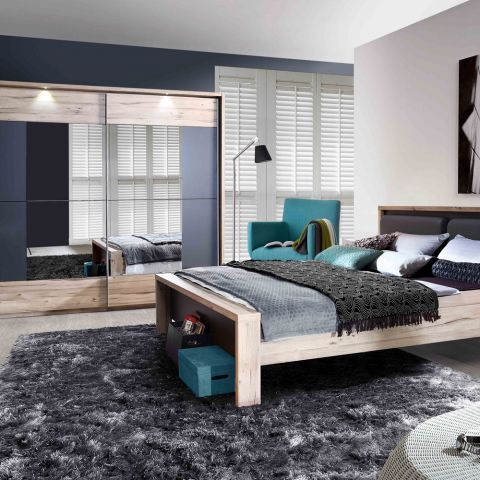 Dormitor Clair, Pat 1600 mm.