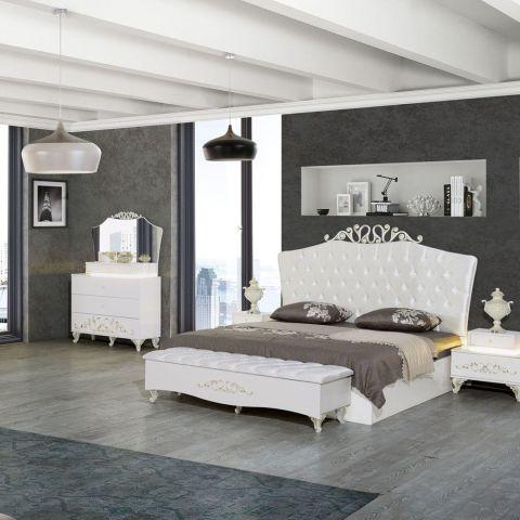 Dormitor Lisabona, Alb