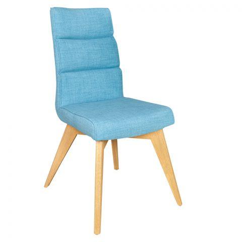 Scaun Jasmin, Albastru, 416 x 1010 x 447 mm.