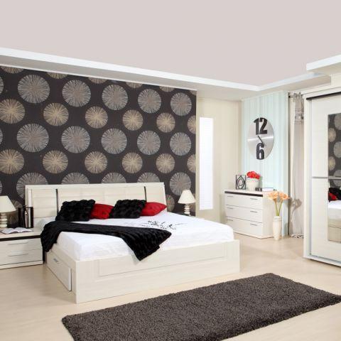 Dormitor Pallas, Crem